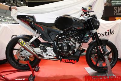 SWM Superbike 300, pronta a correre