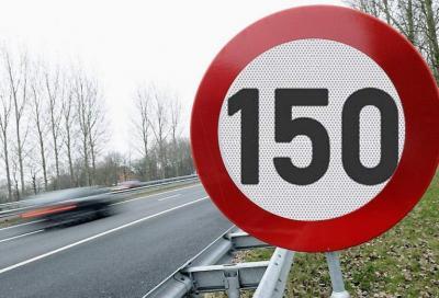 Limite a 150 km/h in Autostrada