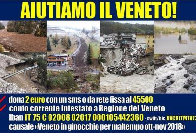 Aiutiamo i territori colpiti dall'alluvione con #VadoInVeneto