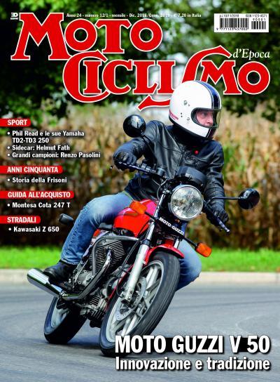 Motociclismo d'Epoca di dicembre 2018/gennaio 2019