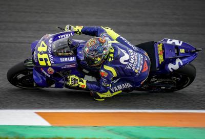 """Rossi: """"Con il nuovo motore la M1 è più facile da guidare"""""""