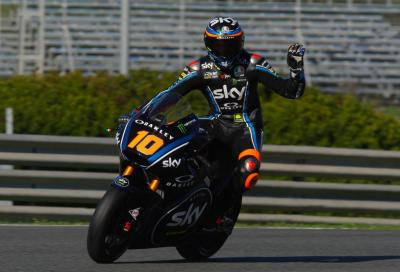 Test Jerez, Day 2: Marini comanda le Moto2, Smith le MotoE