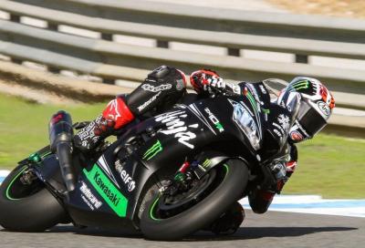 Test WSBK: Rea vola a Jerez, Bautista è vicinissimo con la Ducati