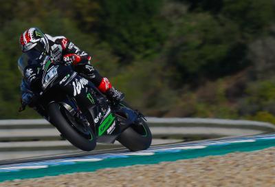 Test WSBK, Jerez: nessuno batte Rea, brillano Lowes e Haslam