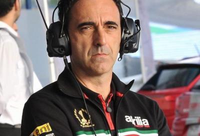 """Aprilia al lavoro a Jerez: """"Telaio e motore fra le priorità"""""""