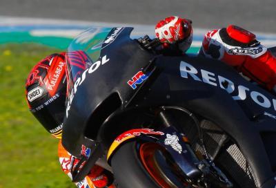MotoGP: Marquez in testa a metà giornata, spicca Bagnaia