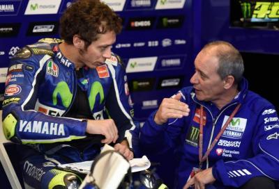 Cadalora non sarà più il coach di Valentino Rossi