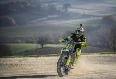 """Al via la """"100 km dei Campioni"""" al Ranch di Valentino Rossi"""