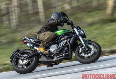 Benelli 752 S, il video del test