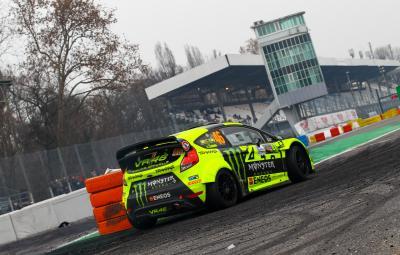 Rossi al comando del Monza Rally Show