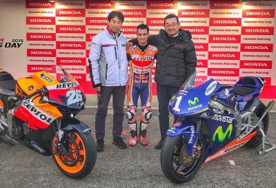 Honda saluta Pedrosa regalandogli due moto