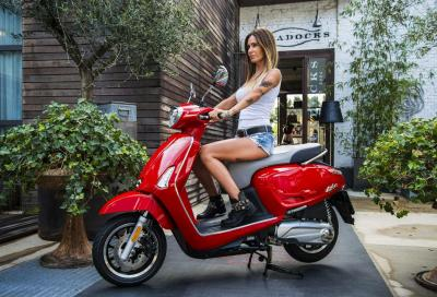 Kymco People S e Like a interessi zero fino al 31 dicembre