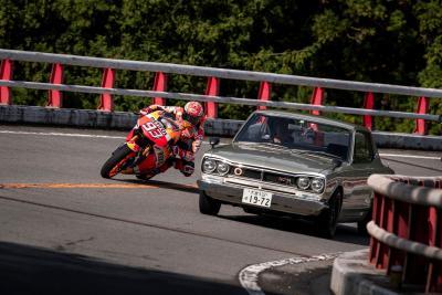 Record digitale per Marquez contromano sulla Honda RC213V