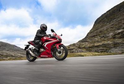 Nuova Honda CBR500R: il video