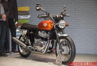 La Royal Enfield Interceptor 650 è la moto dell'anno in India
