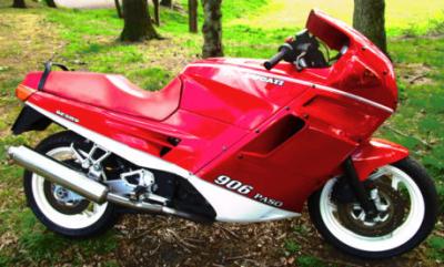 All'asta la Ducati 906 Paso di Nigel Mansell