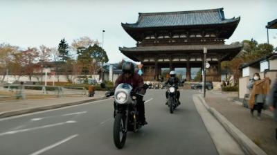 In azione con le nuove Kawasaki W800