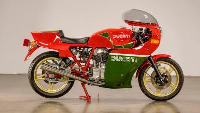 All'asta la replica della Ducati del TT di Mike Hailwood