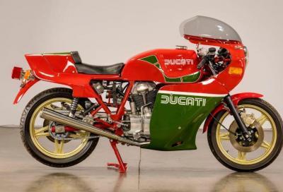 All'asta la replica della Ducati del TT di Mike Hailwood