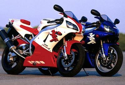 Yamaha R1 story, il pieno di passione