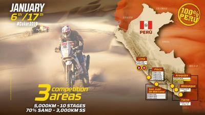 Tutto è pronto per la Dakar 2019