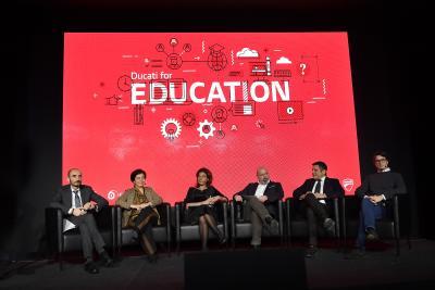 Ducati for Education, iniziative per l'istruzione e la formazione