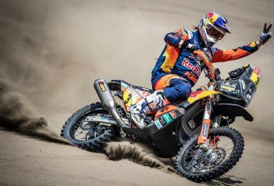 Toby Price vince la Dakar 2019, con un polso rotto!