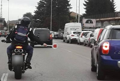 A Monza vigili motociclisti in borghese anti-smartphone