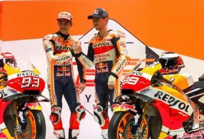 Svelata la Honda RC213V 2019 di Lorenzo e Marquez