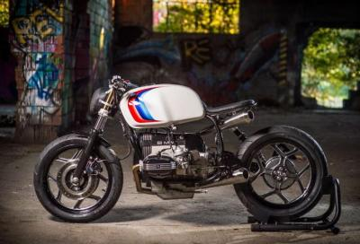 Mad Fritz, una BMW R80 G/S minimal