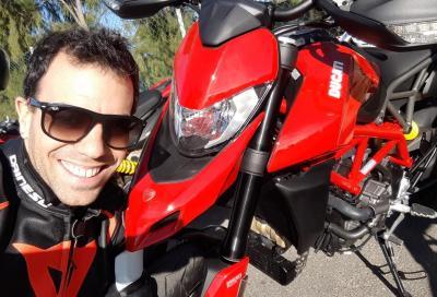 Ducati Hypermotard 950: miss Italia