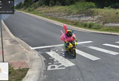 Incidenti, stranezze e curiosità da Google Street View