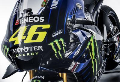 Yamaha svela la YZR-M1 2019 di Rossi e Vinales