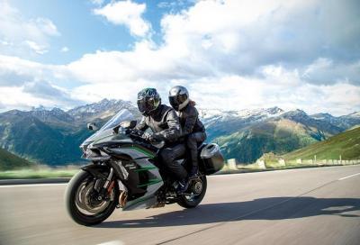 Kawasaki Ninja H2 SX SE+: il video