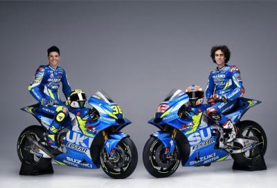 MotoGP: Rins e Mir svelano la nuova Suzuki GSX-RR