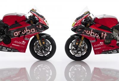 La Ducati Panigale V4 R SBK 2019 di Davies e Bautista