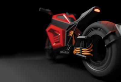 RMK E2, pronta alla produzione la moto elettrica senza mozzo