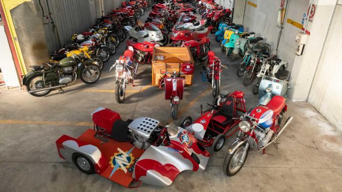 Venduta all'asta la più grande collezione privata di MV Agusta