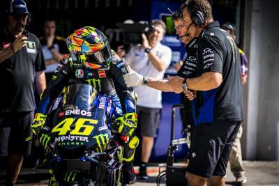 """Rossi: """"Obiettivo grip. Lavoriamo nella direzione giusta"""""""