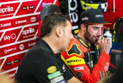 Aprilia: Espargaro e Iannone al lavoro per affinare la RS-GP