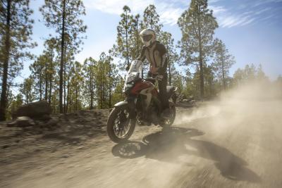 Honda CB500X, pronta all'avventura