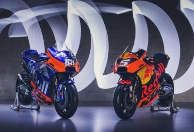 KTM Factory Racing e Tech 3: ecco le nuove RC16 MotoGP