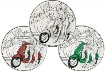 Vespa diventa una moneta… da 5 euro!