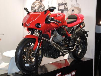 Guareschi Corse presenta il kit Varano per Moto Guzzi