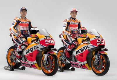 Jorge Lorenzo e Marc Marquez sulla Honda RC213V 2019