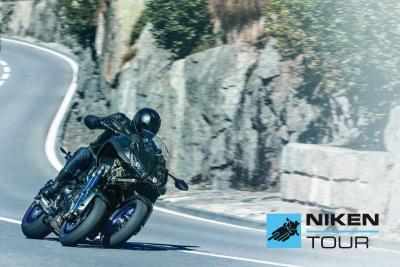 Prova la 3 ruote di Yamaha durante il Niken Tour 2019