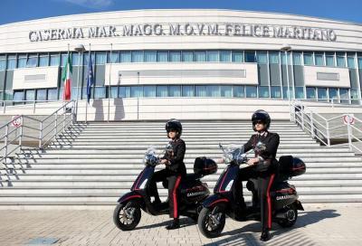 Due Vespa Elettrica per i carabinieri di Firenze