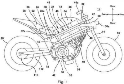 Kawasaki, in arrivo una moto elettrica con il cambio?