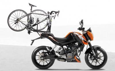 Posso caricare la bici sulla moto?