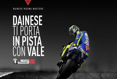 Dainese ti porta in pista a Misano con Valentino Rossi